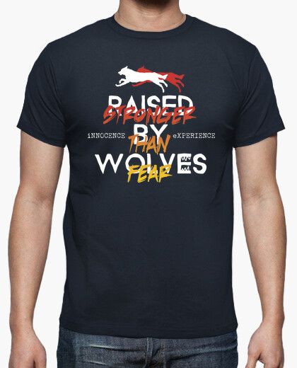 Camiseta Raised By Wolves