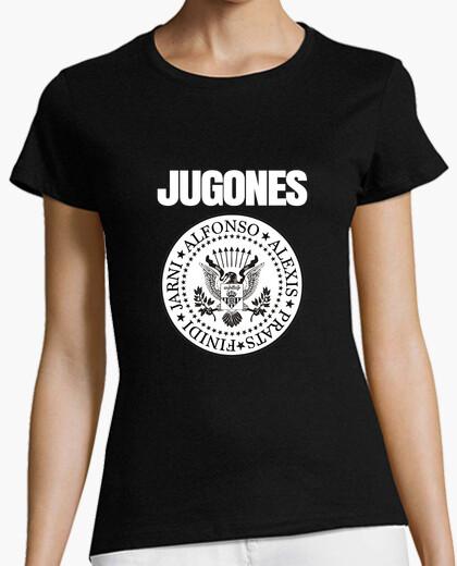 Camiseta Ramones - Jugones (Negra)