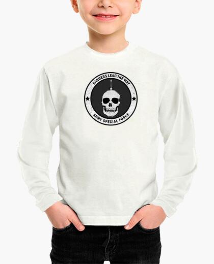 Ropa infantil camiseta Ranger Army manga larga.