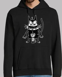 Camiseta ratón y ratón espeluznante
