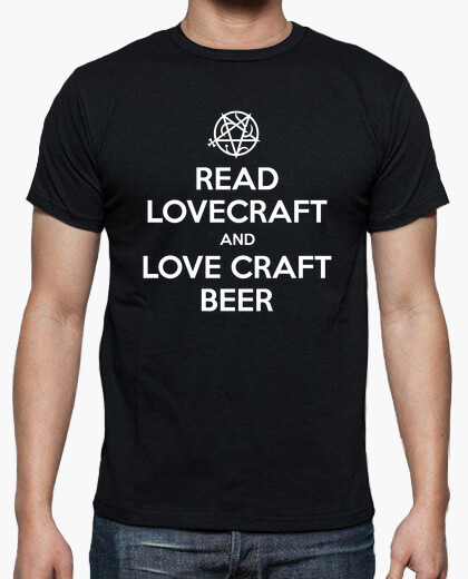 Camiseta READ LOVECRAFT AND LOVE CRAFT BEER