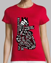 Camiseta Rebel Heart Chica