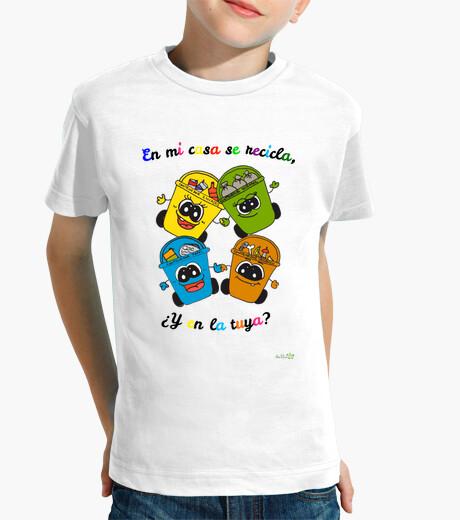 Ropa infantil Camiseta Reciclaje