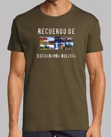 Camiseta recuerdo de Cochabamba Bolivia