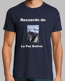 Camiseta recuerdo de La Paz Bolivia