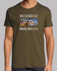 Camiseta recuerdo de Oruro Bolivia