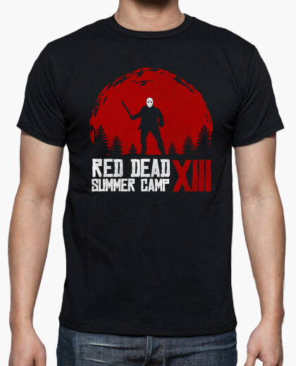 Camiseta Red Dead Summer Camp XIII