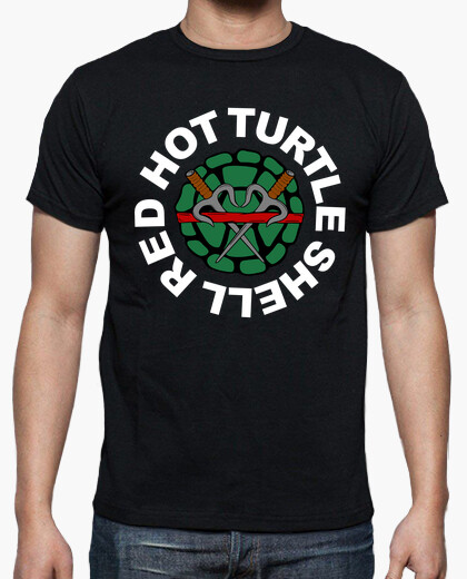 Camiseta Red Hot Turtle Shell