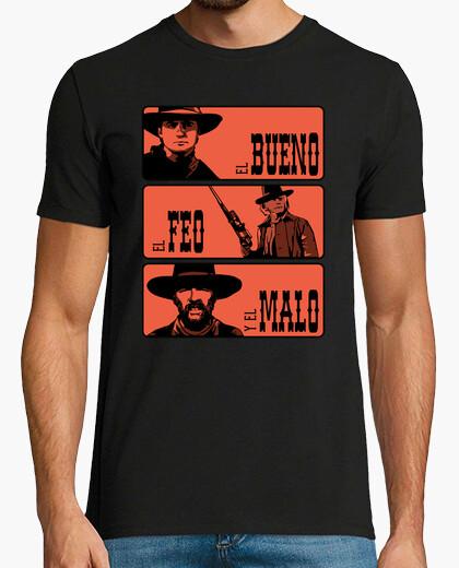 Camiseta Regreso al futuro III: El bueno, el feo y el malo