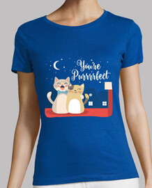 "Camiseta regular ""You're Purrrfect"""