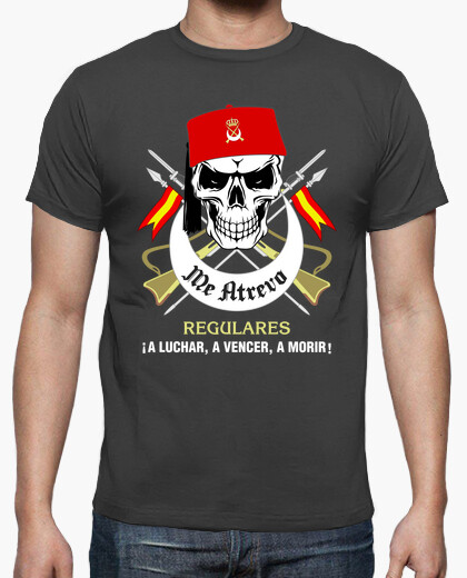 Camiseta Regulares Calavera mod.1-2