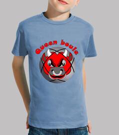 camiseta reina bola niño reina bolas de petanca