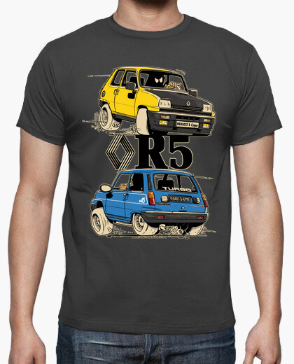 Camiseta RENAULT 5 COPA Y ALPINE