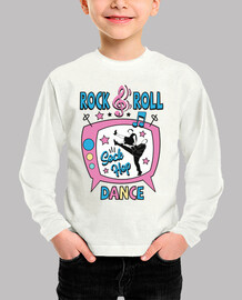 Camiseta Retro 1950s Rock and Roll Dance Party Sock Hop Rockabilly Music Vintage 50s USA