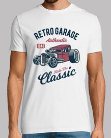 Camiseta Retro American Hotrod 1948