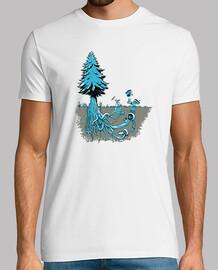 Camiseta Retro Arbol