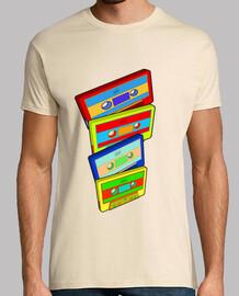 Camiseta Retro cassette