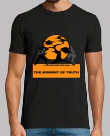 Camiseta retro chico The Moment of Truth - Karate Kid