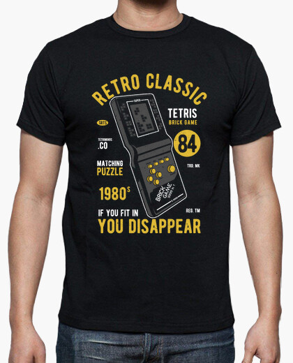 Camiseta Retro Classic Game - ARTMISETAS ART CAMISETAS