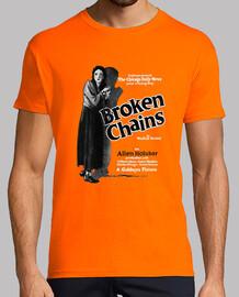 Camiseta Retro de Película Broken Chains de 1922.