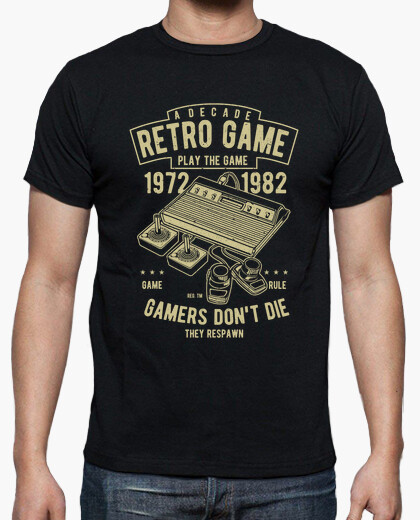 Camiseta Retro Game