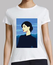 Camiseta Retro Girls Vintage Art Estilo Women Artística