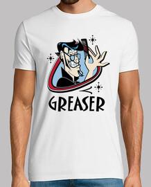 Camiseta Retro Greaser Rocker Rockabilly Music Vintage Rock and Roll USA