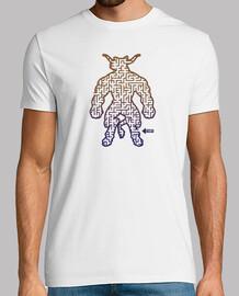 Camiseta Retro Minotauro