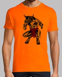 Camiseta Retro Minotauro2
