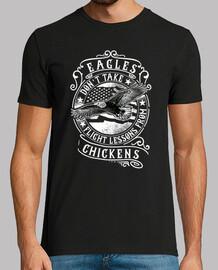 Camiseta Retro Motivación Motivacional Mensaje Aguila USA