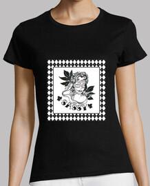 Camiseta Retro Vintage Woman Argyle