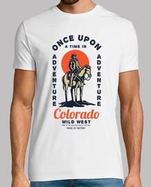 Camiseta Retro Wild West Cowboys Vintage Colorado