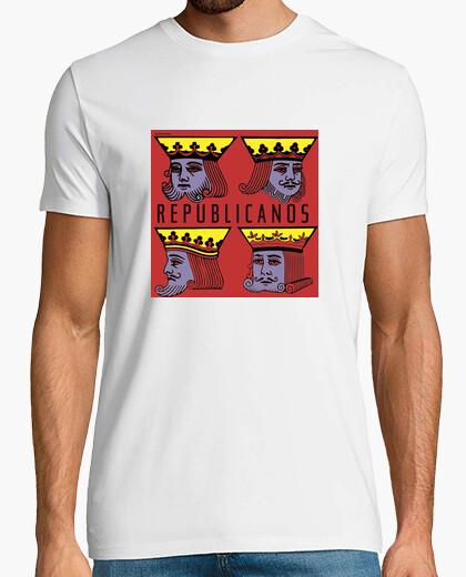 Camiseta reyes republicanos 2