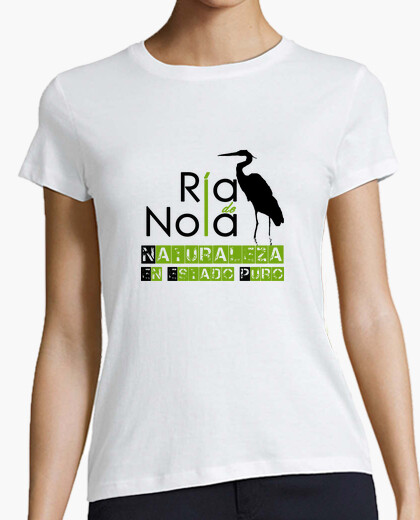 Camiseta Ría de Noia NATURALEZA EN ESTADO PURO