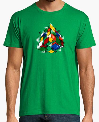 Camiseta ribiks cubismo