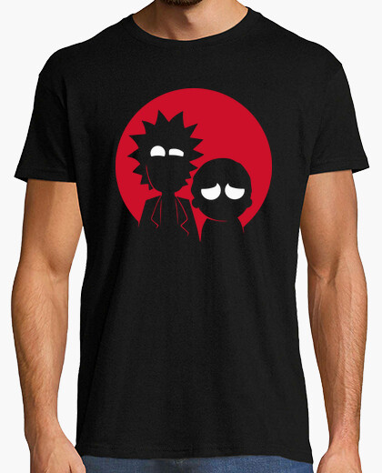 Camiseta Rick & Morty - Batman & Robin