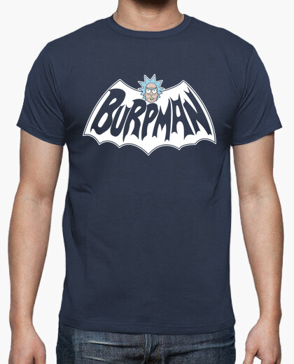 Camiseta Rick & Morty - BURPMAN (transparente)
