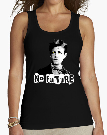 Camiseta Rimbaud - No future
