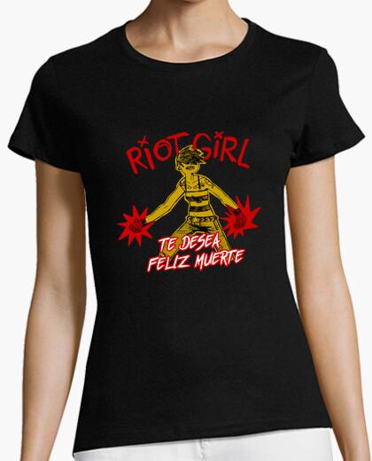 Camiseta Riot Girl