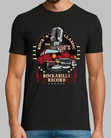 Camiseta Rockabilly 50s Classic Car USA