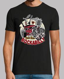 Camiseta Rockabilly 50s Retro Hotrod USA