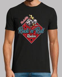 Camiseta Rockabilly 50s Rockers Vintage Greaser
