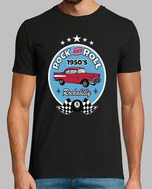 Camiseta Rockabilly Music 1950s Rocker USA Rock and Roll