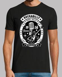 Camiseta Rockabilly Music Rockers Retro Rock USA Rock and Roll