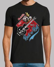 Camiseta Rockabilly Music Rockers Rock and Roll USA Rock Music