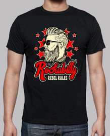 Camiseta Rockabilly Music Rockers Vintage USA Rock and Roll