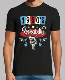 Camiseta Rockabilly Music Vintage 1950s USA Rockers