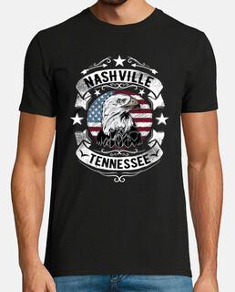Camiseta Rockabilly Nashville Tennessee Country Music USA