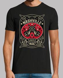 Camiseta Rockabilly Nashville Tennessee Country Music USA Rock