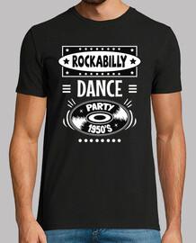 Camiseta Rockabilly Vintage Party Rocker USA Rock